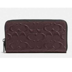 Coach F58113 Men's Signature Accordion Wallet